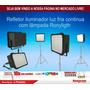 Refletor Iluminador Luz Fria Continua Ronyligth Com Lâmpadas