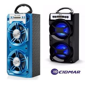 Corneta Bluetooth Radio Inalambrico Speaker Usb/pendrive/aux