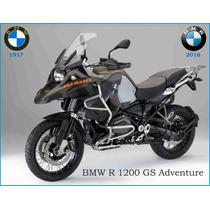 Lienzo Tela Poster Motocicleta Bmw R 1200 Gs Adventure 50x90