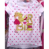 Camisas Barbie Para Niñas Originales (licencia)
