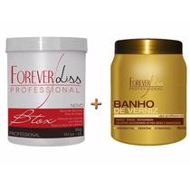 Forever Liss Kit-botox Capilar 1kg+banho De Verniz 1kg