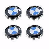 4 Emblemas Centros Set Tapones Para Rines Bmw Originales