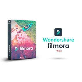 Programa Editor De Vídeo Filmora 8.4 64bits