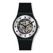 Reloj Swatch Silver Glam Suoz147   Original Envio Gratis
