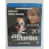 Jogo De Espiões. Com Brad Pitt, Robert Redford