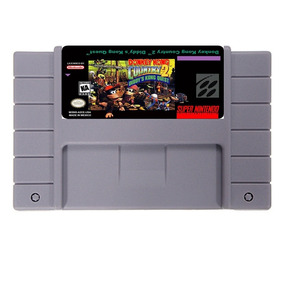 Donkey Kong Country 2 Dk2 Americano Super Nintendo Snes Novo