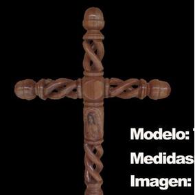 Cruces De Cedro Para Difunto Letra De Golpe, Estola Y Flores