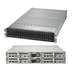 Servidor Supermicro Twin 2u Sys-2028tp-hc0r-siom 4 Nodos
