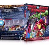 2 Box Marvel Disk Wars The Avengers 8 Dvd