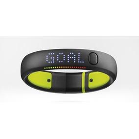 Pulseira Corrida Nike+ Fuelband Se X/l Preto Com Verde