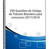 Legislação De Trânsito 250...questões De Concursos