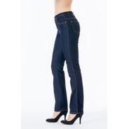 Jeans Scandia Mezclilla Stretch Cintura Alta Recto 2205