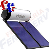 Colector Panel Calentador Plan Solar Ute Agua Haier 300 Lt