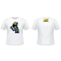 Camiseta Valentino Rossi 46 Yamaha Monster Movistar Moto Gp