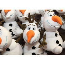5 Pelucia Musical Boneco De Neve Olaf Frozen Pronta Entrega
