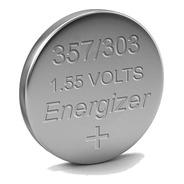 Pila Sr44sw Energizer Oxido De Plata 1.5v 357 303 P/ Relojes