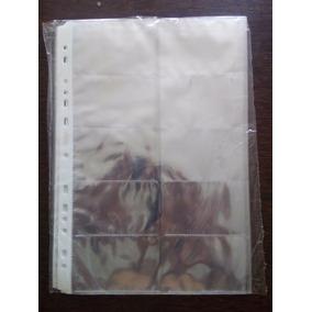 Refil Para Cartões Visita - 5 Pacotes Com 10 Folhas Cada