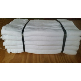 Saco Alvejado Pano P/ Limpeza Branco Com 25 Und Mais Kit