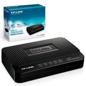 Tp-link Modem Router Td-8817 Adsl2+ Modem 1 Rj45 1 Usb