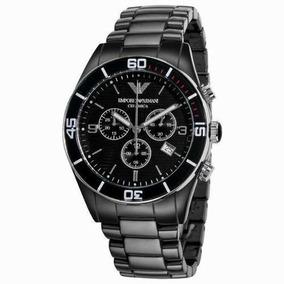 0302761fe54 Relógio Emporio Armani Ar1421 Cerâmica Preta Frete Grátis.