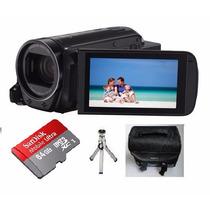 Filmadora Canon Vixia Hf R70 Full Hd Entrada Mic + 64gb+trip