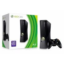 Console Xbox 360 4gb Novo 3 Jogos A Escolha Controle Sem Fio