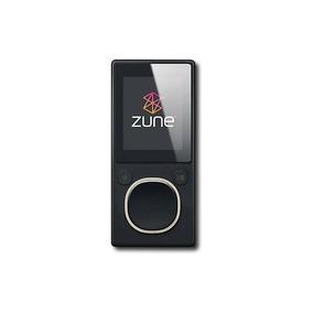 Zune - 4 Gb * Reproductor De Mp3 - Negro