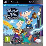 Phineas Y Ferb A Través De La 2ª Dimension Ps3 Español