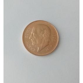 Moneda De Diez Pesos Oro Hidalgo 1959 Excelente Estado