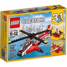 Brinquedo De Montar Lego Creator Air Blazer 3 Em 1 31057