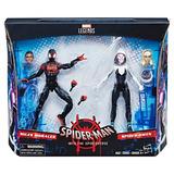 Marvel Legends Spider Man Figuras Miles Morales, Spider Gwen