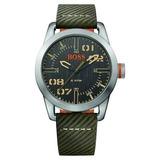 Reloj Hugo Boss 1513415 Cuero Verde Hombre