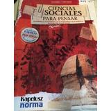 Manual Ciencias Sociales Para Pensar (con Fichero), Kapelusz