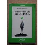 Introducción A La Metafísica.introducción A La Metafísica. M