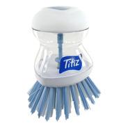 Cepillo Lavaplatos Antibacterial Con Dosificador