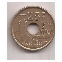 España Moneda De 25 Pesetas Año 1997