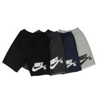 Bermuda Moleton Nike Masculina Shorts Nike Adidas Fitness