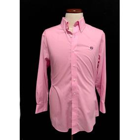 Camisa Hombre Lauren Polo Ralph Lauren Rosa Large Slim Fit