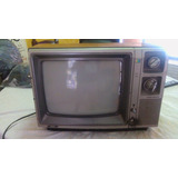 Vieja Television A Color