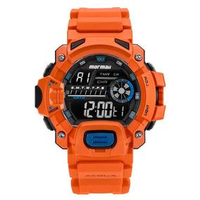 Relógio Mormaii Masculino Acqua Laranja - Relógios De Pulso no ... 70853fa606