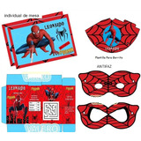 Kit Imprimible Spiderman Hombre Araña Candy Bar Nuevo Diseño