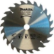 Disco De Serra 185mm(7-1/4 ) 20mmx24 Dentes Makita
