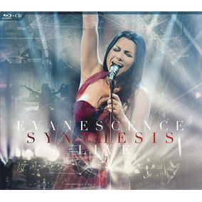 Blu-ray Cd Evanescence Synthesis Live Lacrado Importado