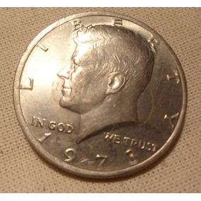 Estados Unidos - Moneda De Half Dollar - Año: 1973 Excelente