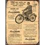 Cartel De Chapa Publicidad Antigua Moto Siambretta 48 A018