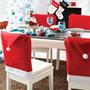 Capa Para Cadeira Gorro Do Papai Noel