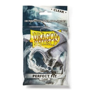 Dragon Shield Sleeves 100 Perfect Fit Clear - Standard Size
