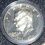 Cumpleaños 1976 Moneda Plata En Estuche Eeuu Eisenhower Gfy
