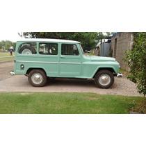 Estanciera Jeep Trompa Brasilera Original