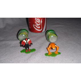 2 Figuras Ben 10 Huevo Kinder Sorpresa